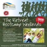 Winter boot camps at The The Retreat Port Stephens