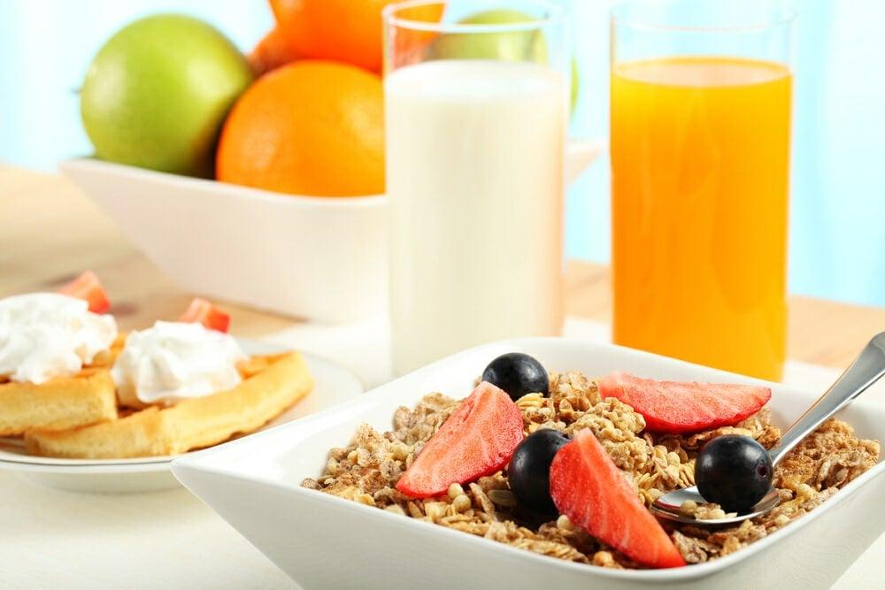 The Retreat Port Stephens - continental breakfast