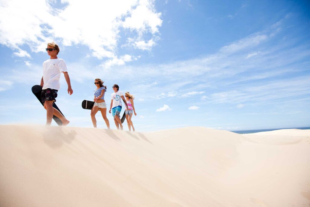 The Retreat Port Stephens - Family Holiday Accommodation Sand Dunes