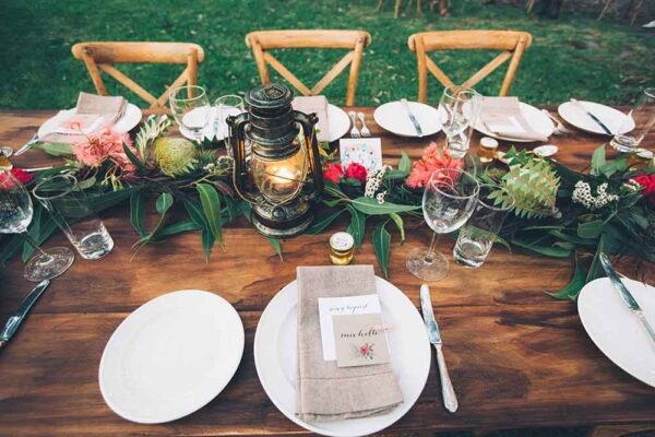 creating a $50,000 wedding at the retreat port stephens