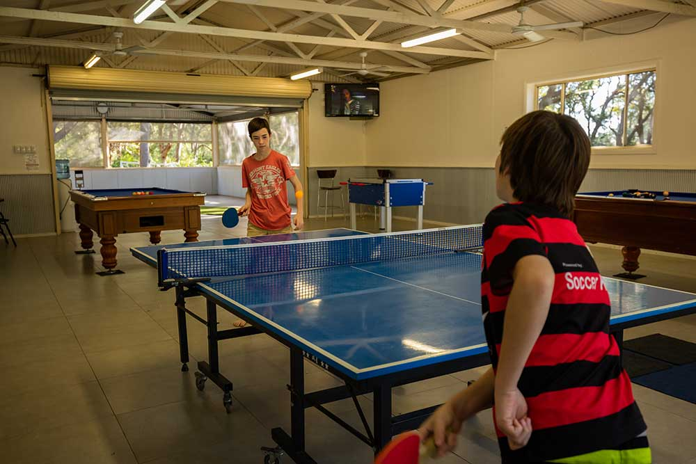 The Retreat Port Stephens - Games Room