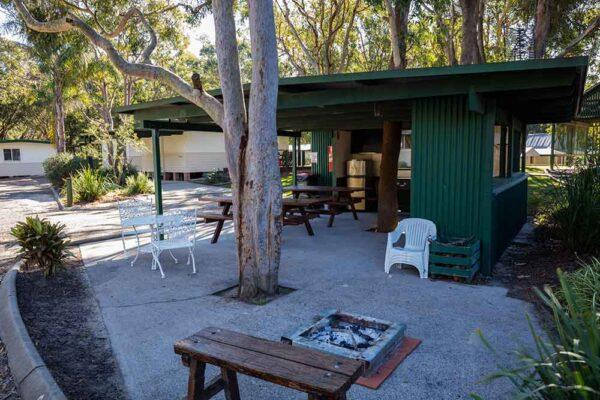 The Retreat Port Stephens - BBQ area