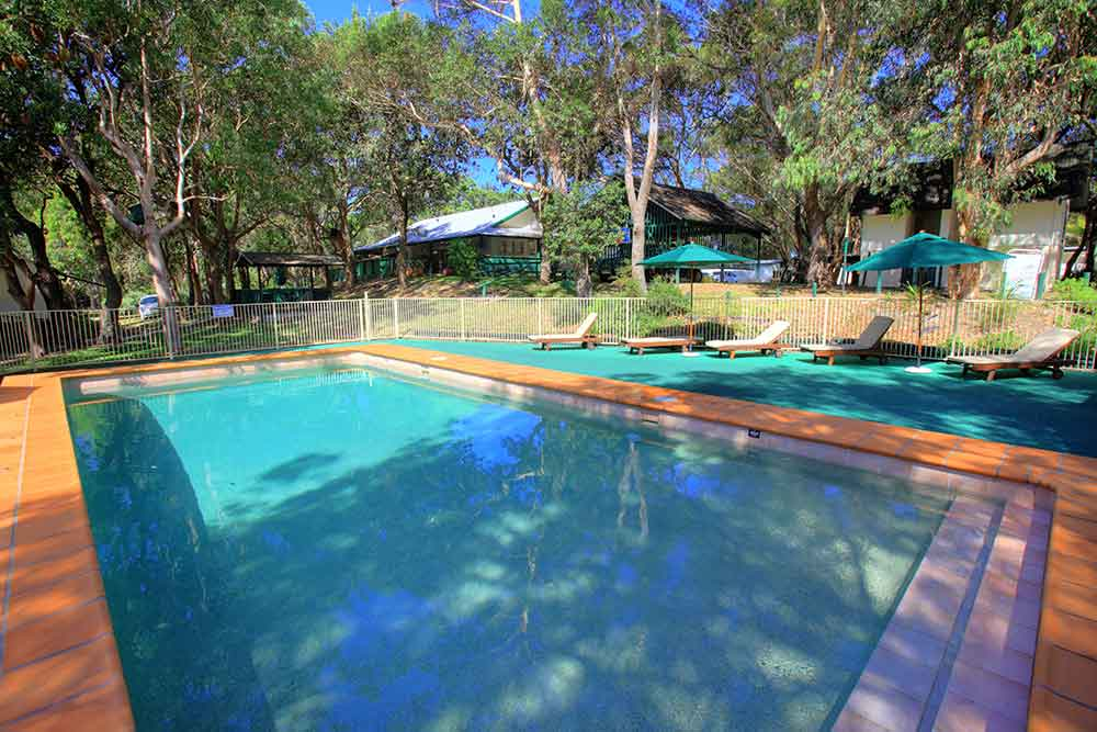The Retreat Port Stephens - Pool Area