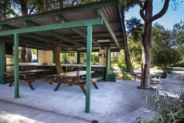 The Retreat Port Stephens - BBQ area