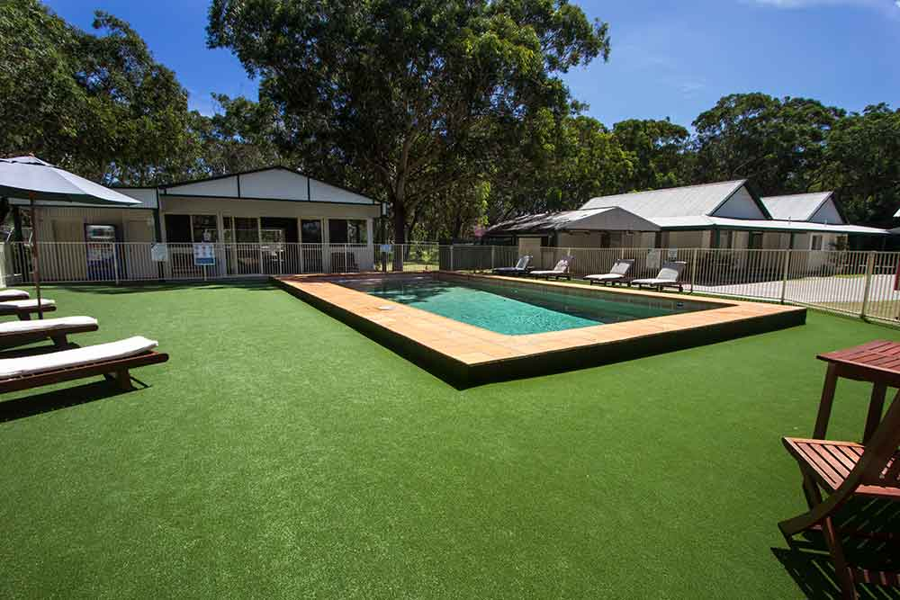 The Retreat Port Stephens - Pool Area