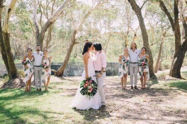 The Retreat Port Stephens - same sex wedding venue